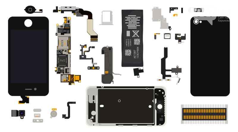 Разнообразие высококачественных комплектующих для смартфонов от интернет-магазина VsePlus, фото-1