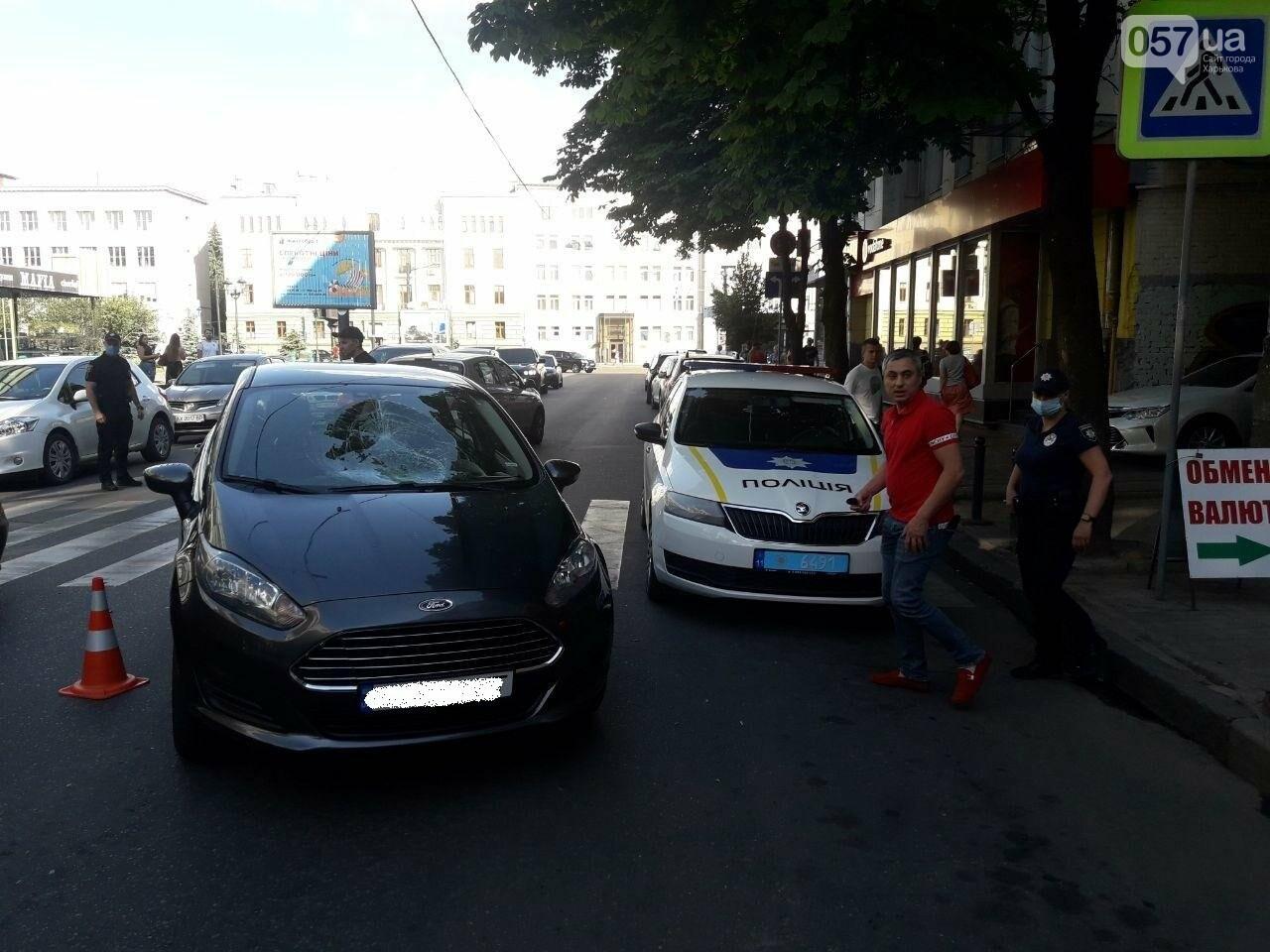 """На """"Пушкинской"""" легковое авто сбило пешехода на """"зебре"""": пострадавший в больнице, - ФОТО, фото-8"""