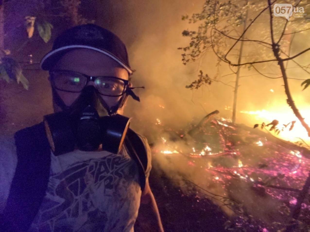 """""""Горит лес, нужна помощь"""": как мы тушили пожар в Чугуеве, - ФОТО, фото-11"""