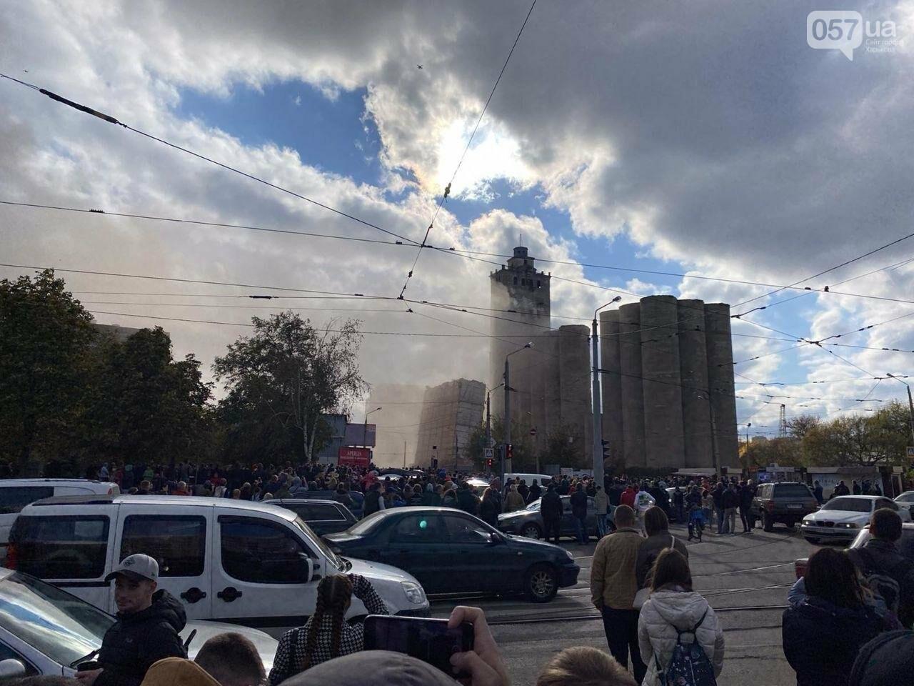 Во время сноса элеватора в Харькове часть старого здания устояла, - ФОТО, фото-4