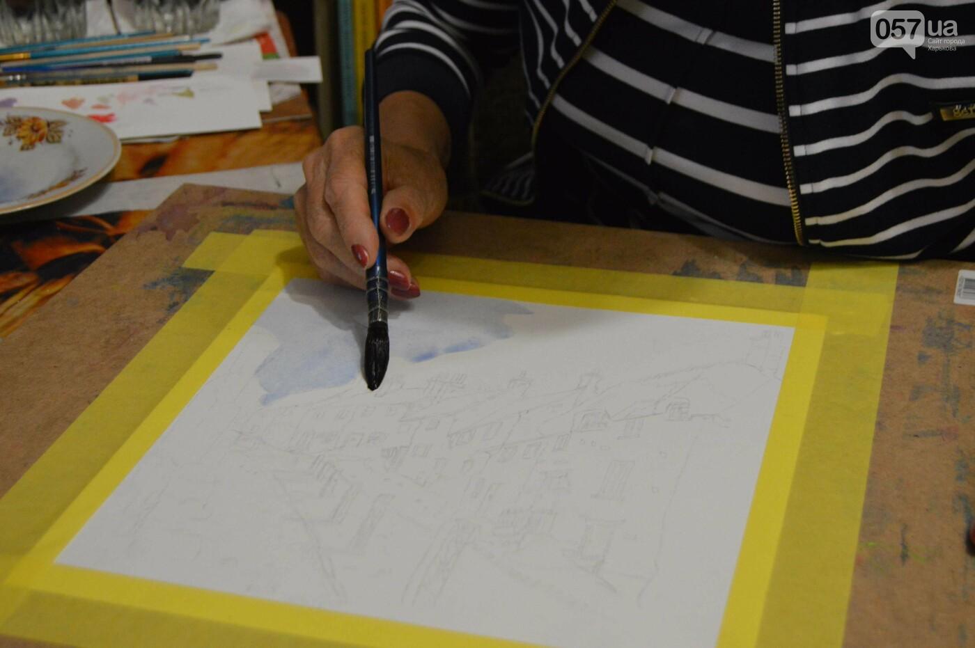 Процесс создания картины