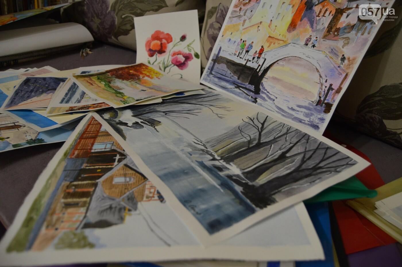 «Отец всегда учил меня быть смелой и сильной»: история харьковской художницы, начавшей рисовать в 70 лет, - ФОТО, фото-1