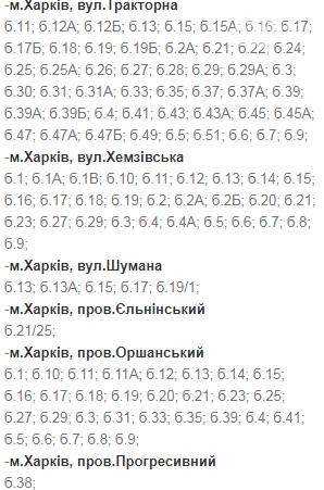 Отключения света в Харькове: график на 17-20 ноября , фото-43