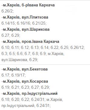 Отключения света в Харькове: график на 17-20 ноября , фото-45