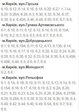 Отключения света в Харькове: график на 17-20 ноября , фото-46