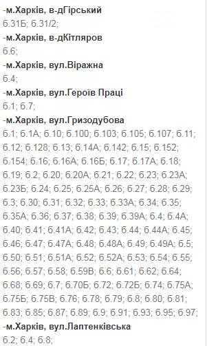 Отключения света в Харькове: график на 17-20 ноября , фото-2