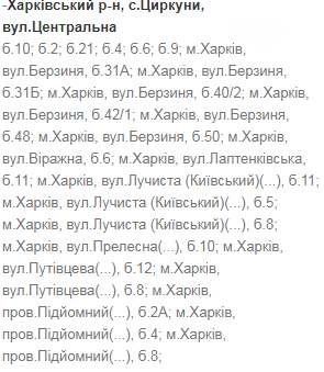 Отключения света в Харькове: график на 17-20 ноября , фото-4