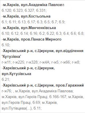 Отключения света в Харькове: график на 17-20 ноября , фото-9
