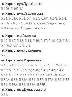 Отключения света в Харькове: график на 17-20 ноября , фото-20