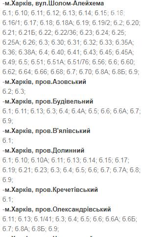 Отключения света в Харькове: график на 17-20 ноября , фото-27