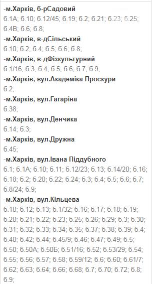 Отключения света в Харькове: график на 17-20 ноября , фото-48