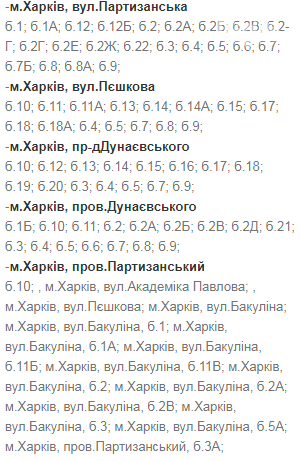 Отключения света в Харькове: график на 24-27 ноября , фото-8