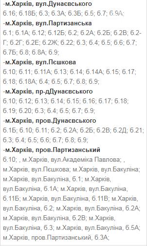 Отключения света в Харькове: график на 24-27 ноября , фото-11