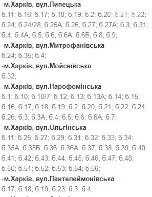 Отключения света в Харькове: график на 24-27 ноября , фото-16