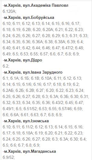 Отключения света в Харькове: график на 1-4 декабря , фото-6