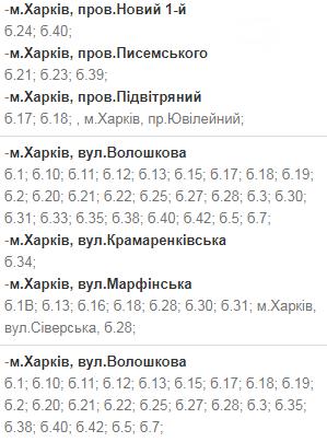 Отключения света в Харькове: график на 1-4 декабря , фото-8