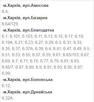 Отключения света в Харькове: график на 1-4 декабря , фото-12