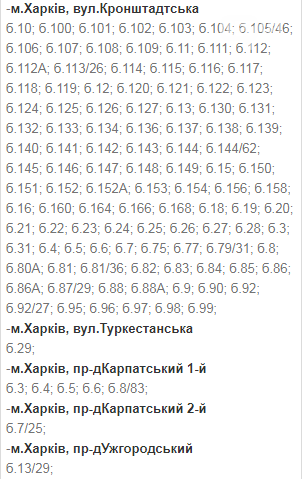 Отключения света в Харькове: график на 1-4 декабря , фото-14