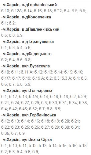 Отключения света в Харькове: график на 1-4 декабря , фото-1