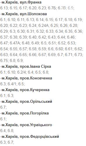 Отключения света в Харькове: график на 1-4 декабря , фото-4