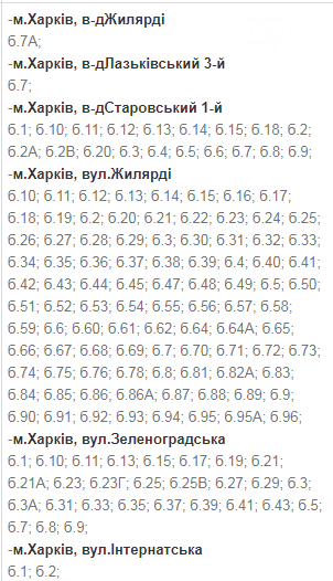 В какие дни и в какое время в Харькове не будет света: график на 8-11 декабря , фото-4