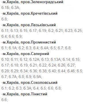 В какие дни и в какое время в Харькове не будет света: график на 8-11 декабря , фото-9