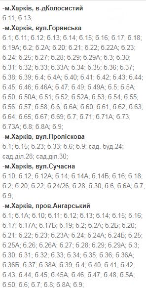 В какие дни и в какое время в Харькове не будет света: график на 8-11 декабря , фото-11