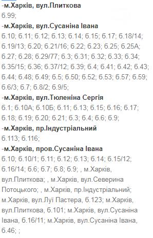 В какие дни и в какое время в Харькове не будет света: график на 8-11 декабря , фото-3