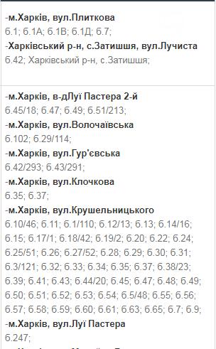 В какие дни и в какое время в Харькове не будет света: график на 8-11 декабря , фото-13