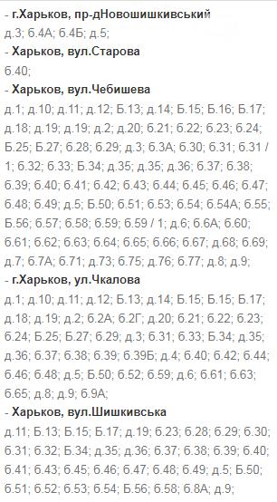 Отключения света в Харькове: график на 22-24 декабря, фото-23
