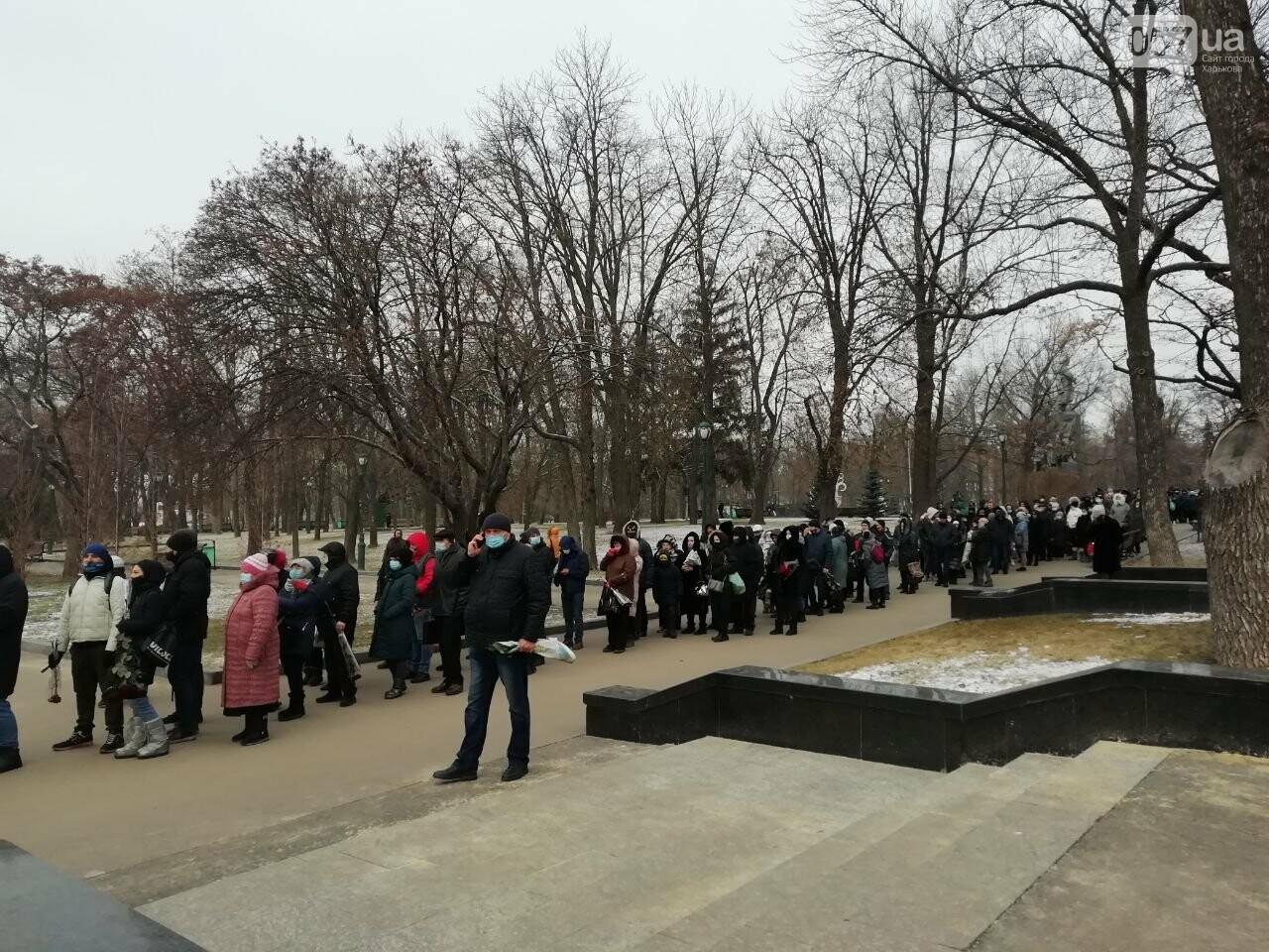 На прощальную церемонию с Кернесом выстроилась огромная очередь, - ФОТО, фото-3