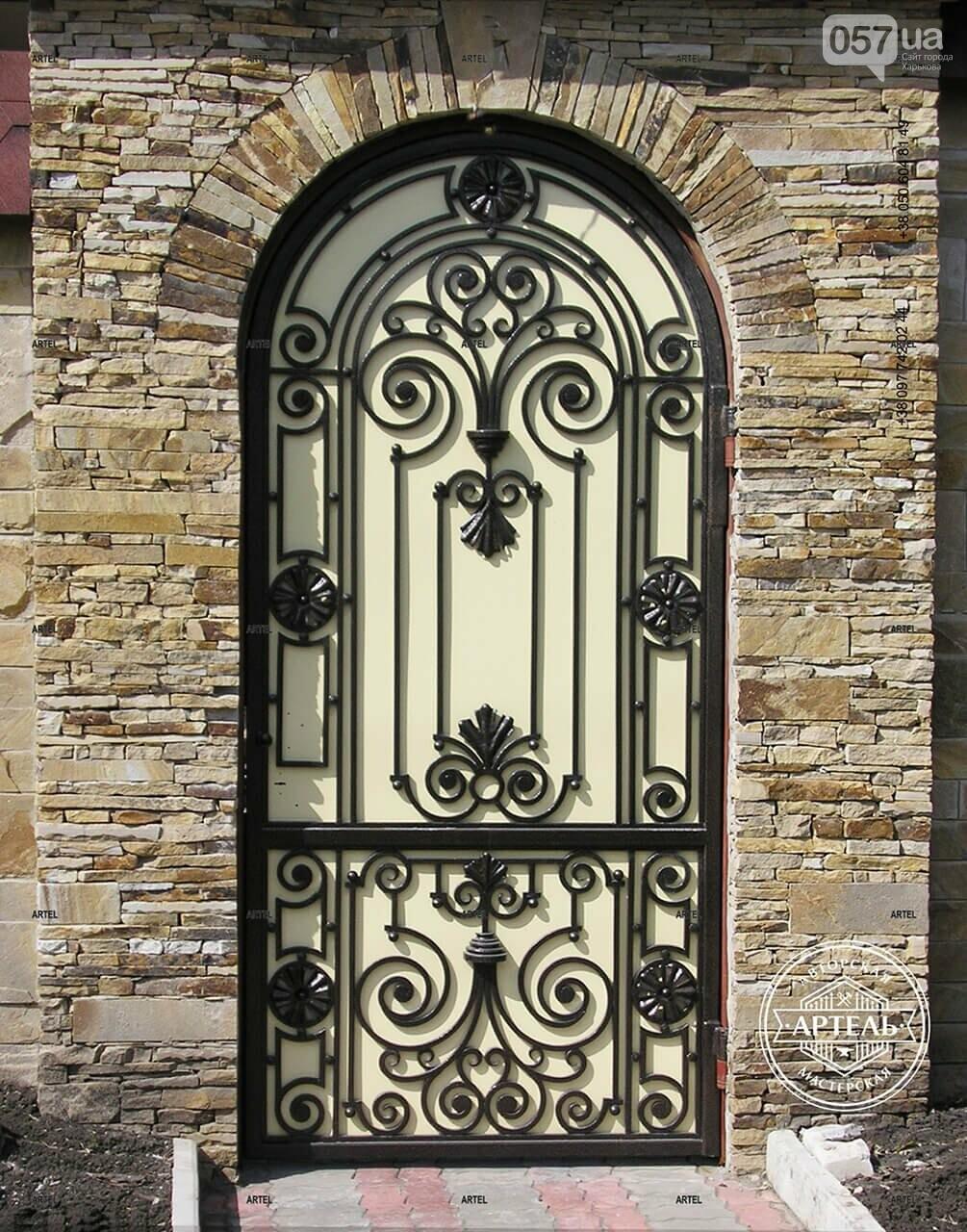 Кованые ворота в Киеве: какой тип ворот заказать?, фото-11