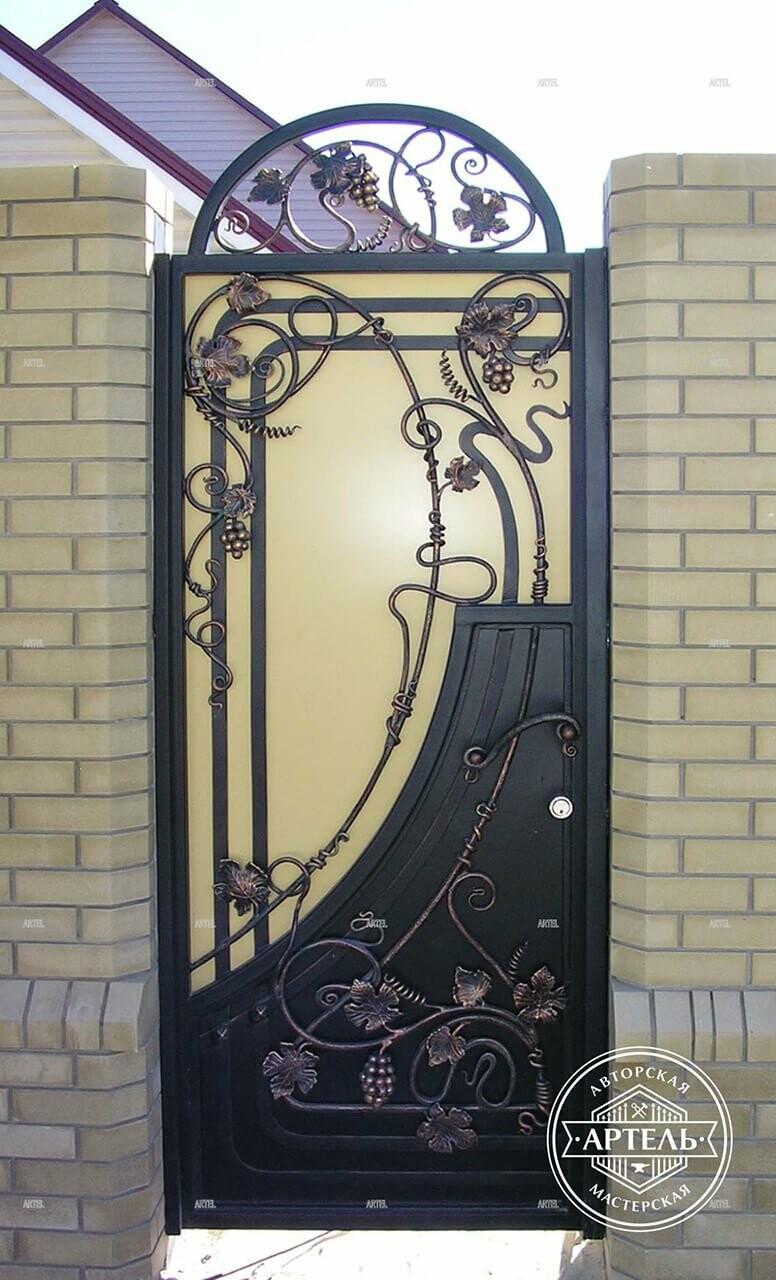 Кованые ворота в Киеве: какой тип ворот заказать?, фото-10