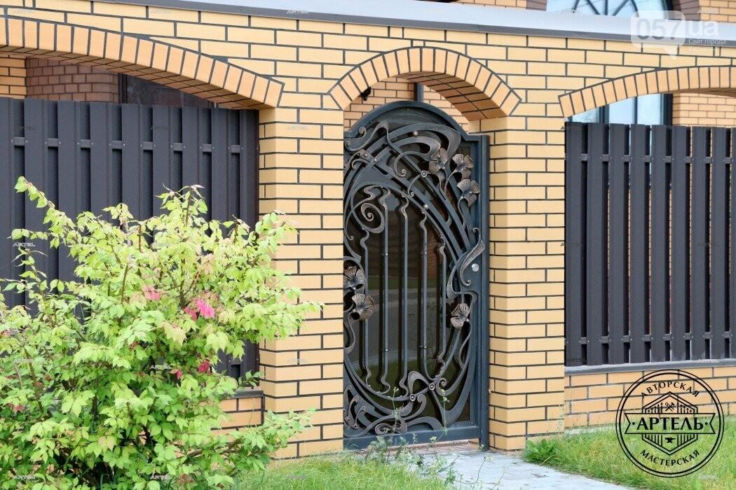 Кованые ворота в Киеве: какой тип ворот заказать?, фото-9