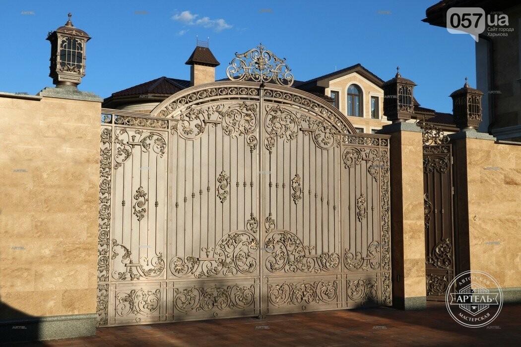Кованые ворота в Киеве: какой тип ворот заказать?, фото-6