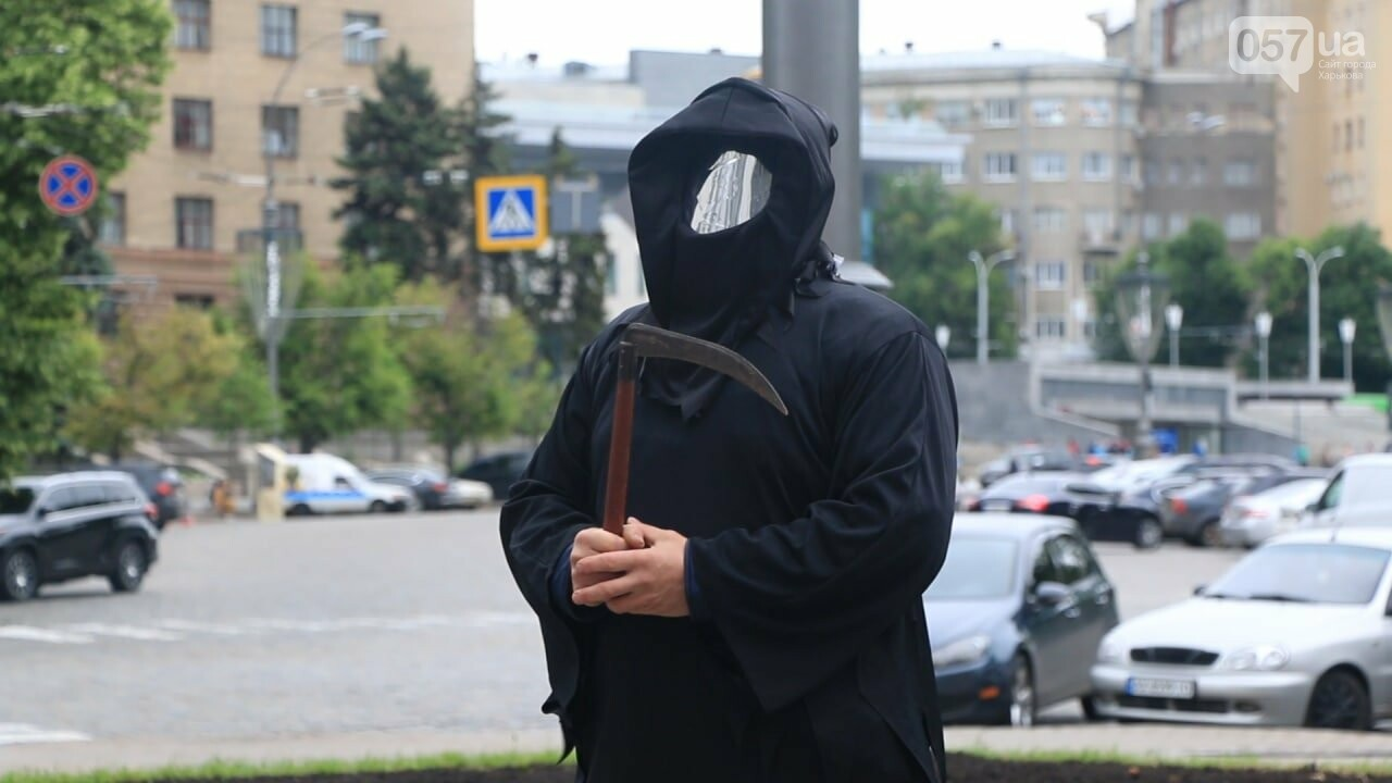 «Коксохим» убивает нас»: в центре Харькова горожане митинговали против завода, - ВИДЕО, ФОТО, фото-1