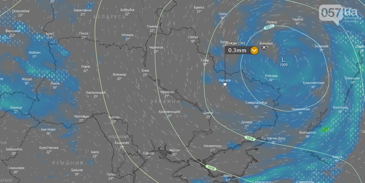 Погода в Харькове сегодня.