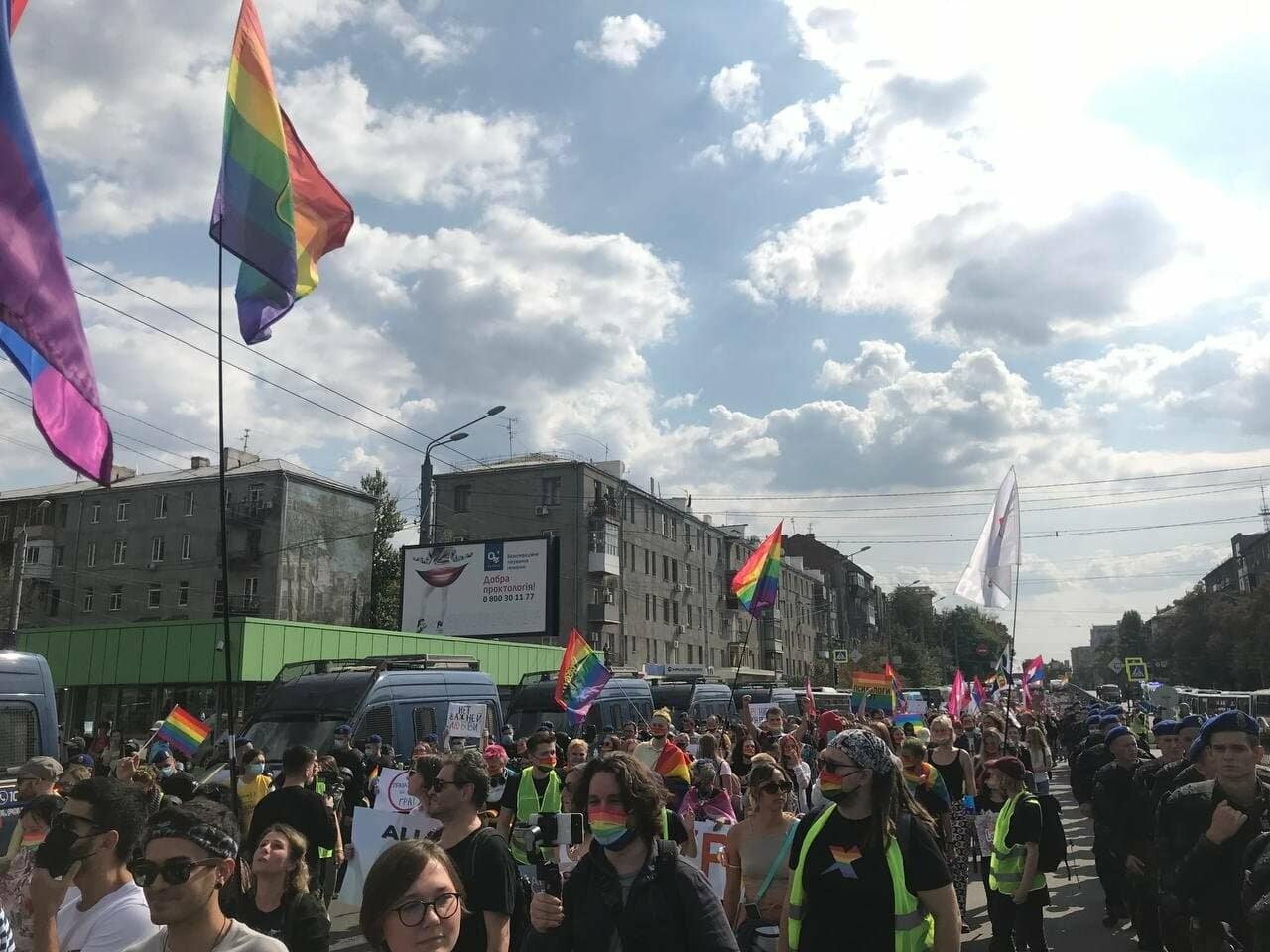 «Нет важней любви». Как в центре Харькова прошел ЛГБТ-марш, - ФОТОРЕПОРТАЖ, фото-2