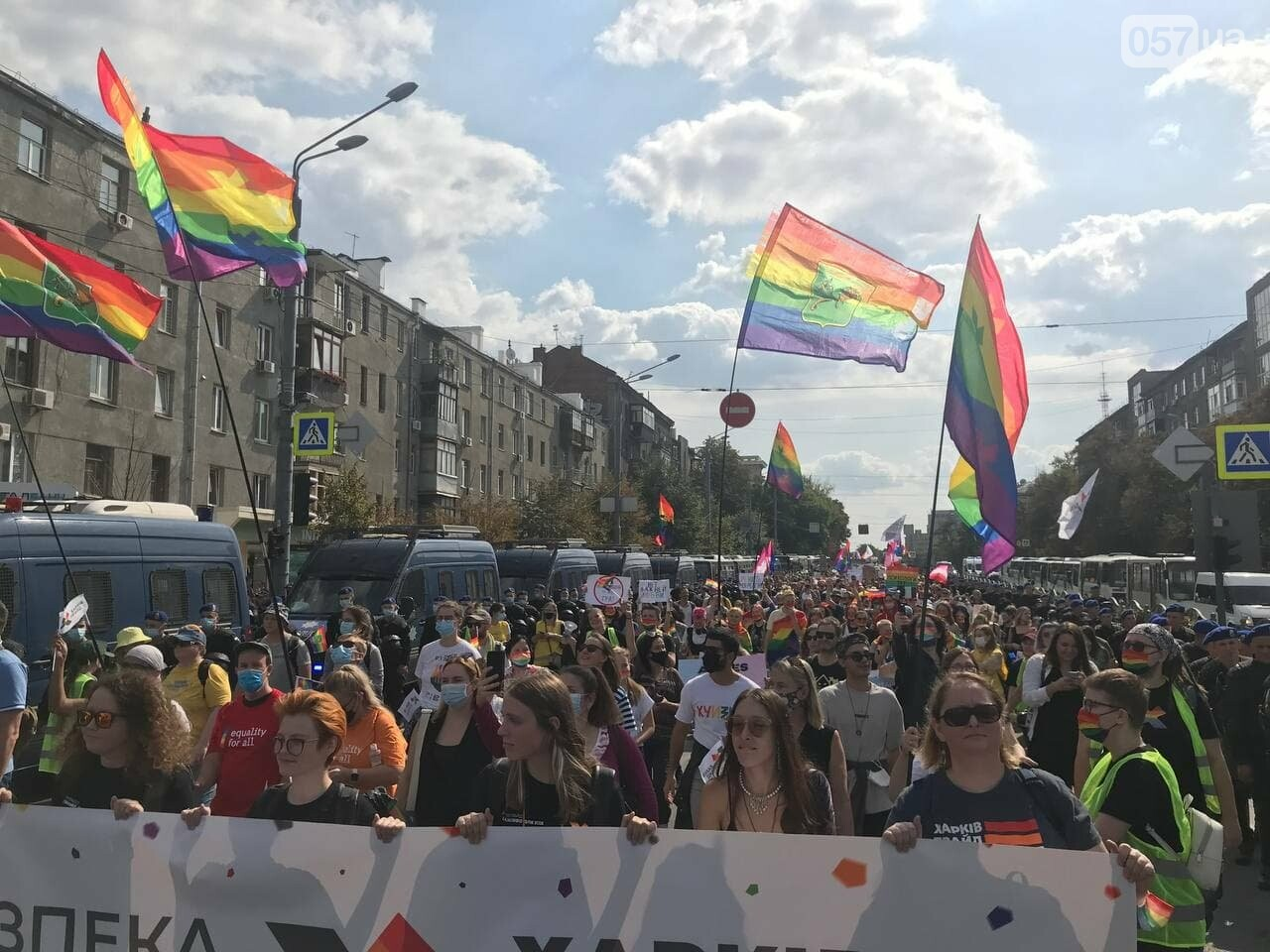 «Нет важней любви». Как в центре Харькова прошел ЛГБТ-марш, - ФОТОРЕПОРТАЖ, фото-3