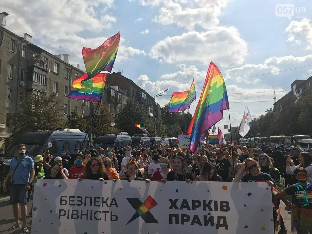«Нет важней любви». Как в центре Харькова прошел ЛГБТ-марш, - ФОТОРЕПОРТАЖ, фото-9