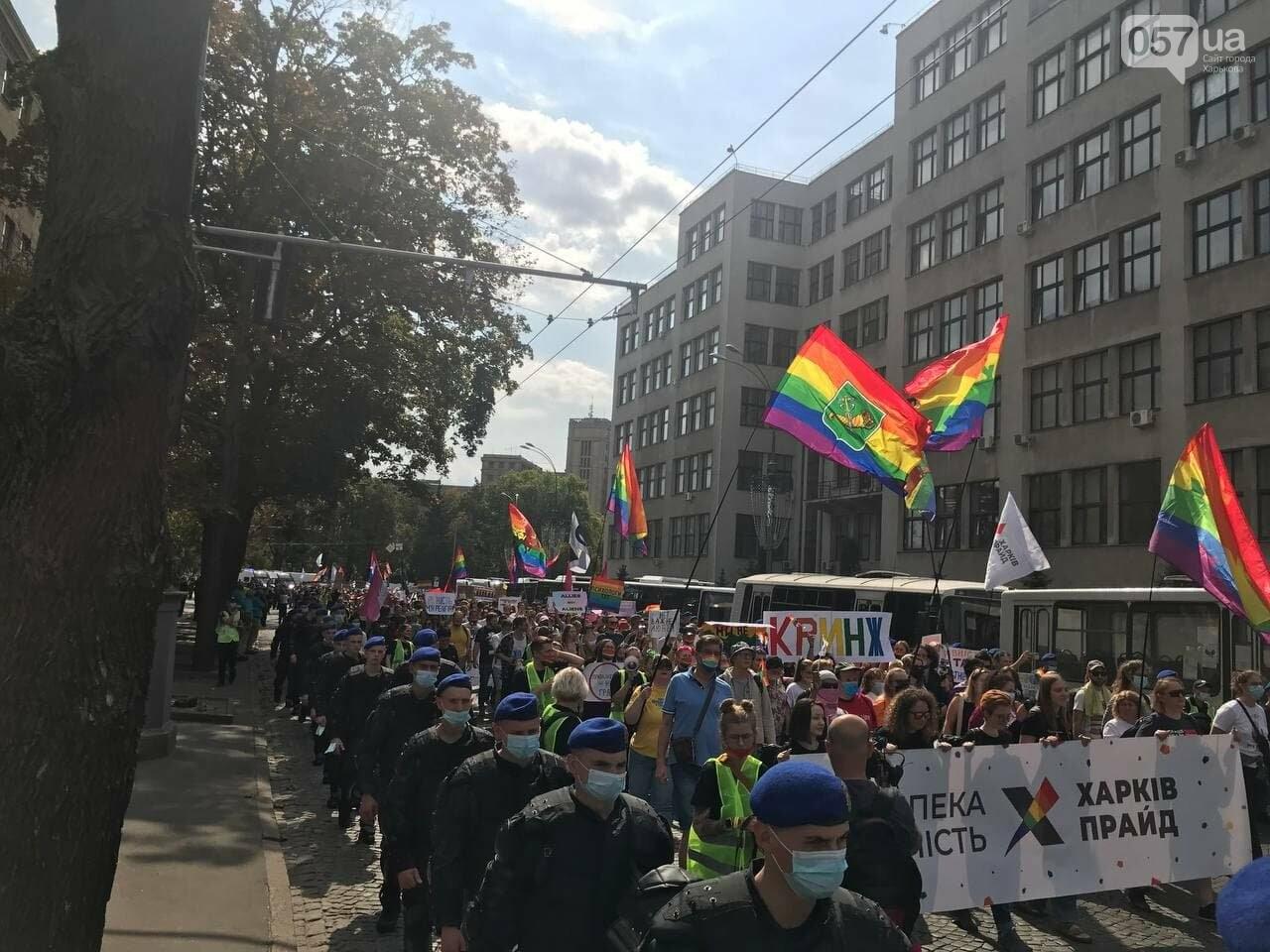 «Нет важней любви». Как в центре Харькова прошел ЛГБТ-марш, - ФОТОРЕПОРТАЖ, фото-10