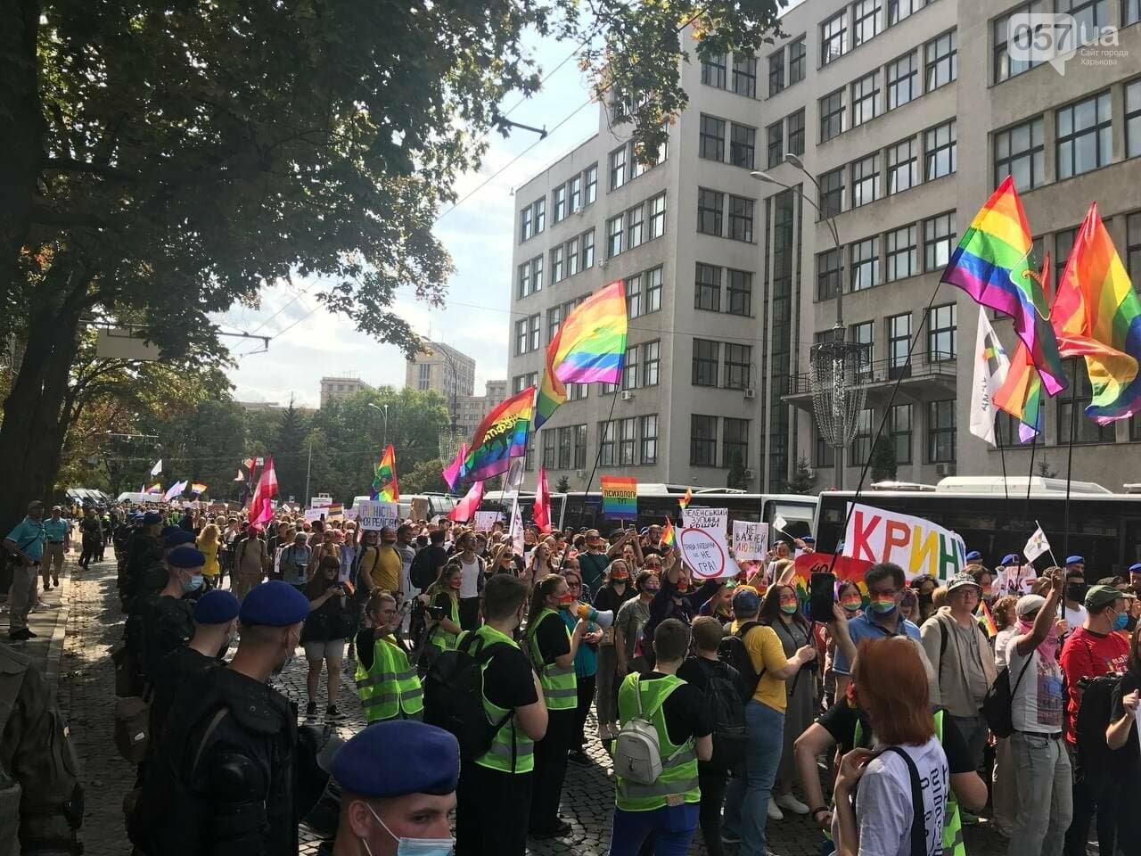 «Нет важней любви». Как в центре Харькова прошел ЛГБТ-марш, - ФОТОРЕПОРТАЖ, фото-11