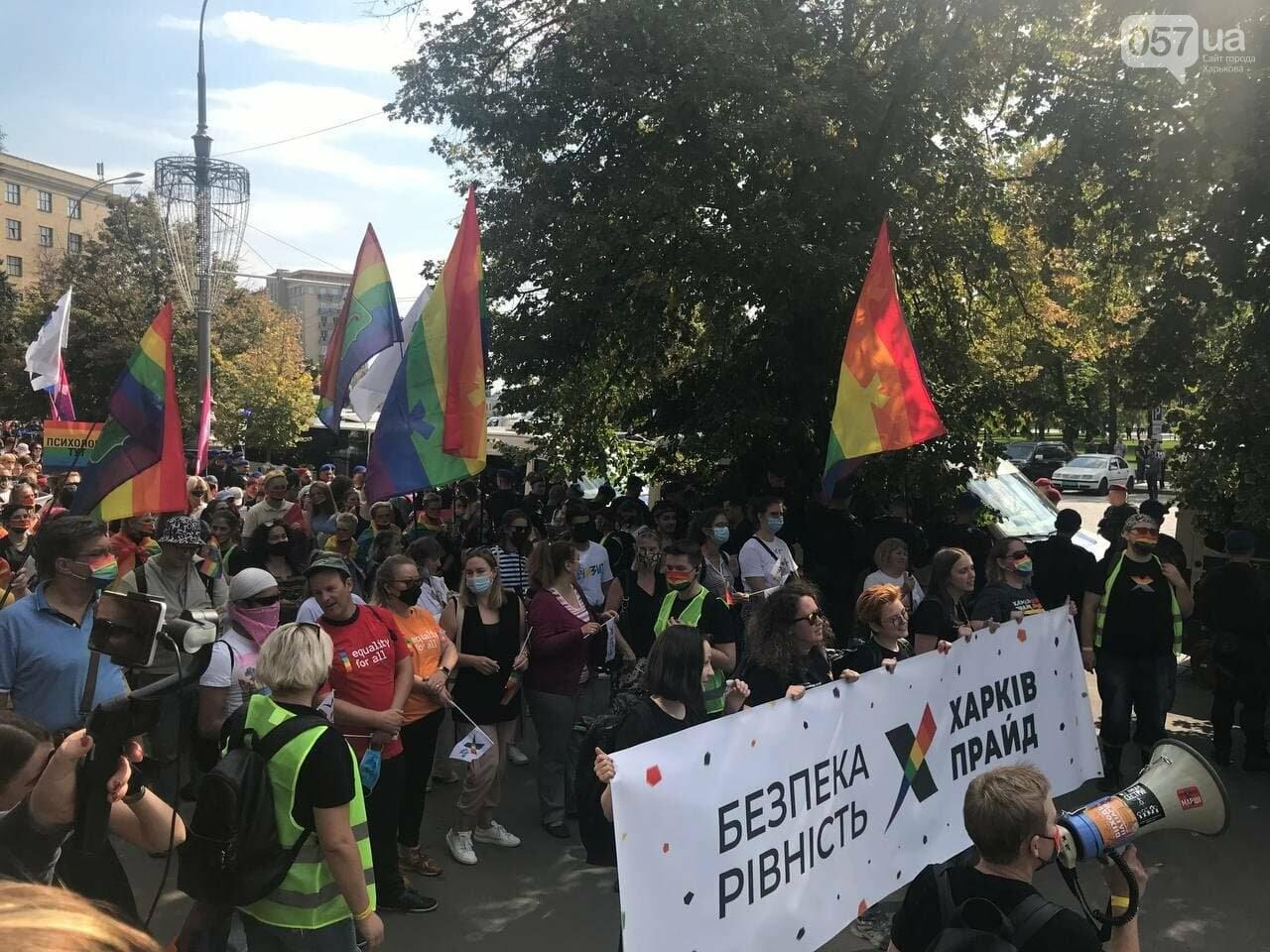«Нет важней любви». Как в центре Харькова прошел ЛГБТ-марш, - ФОТОРЕПОРТАЖ, фото-14