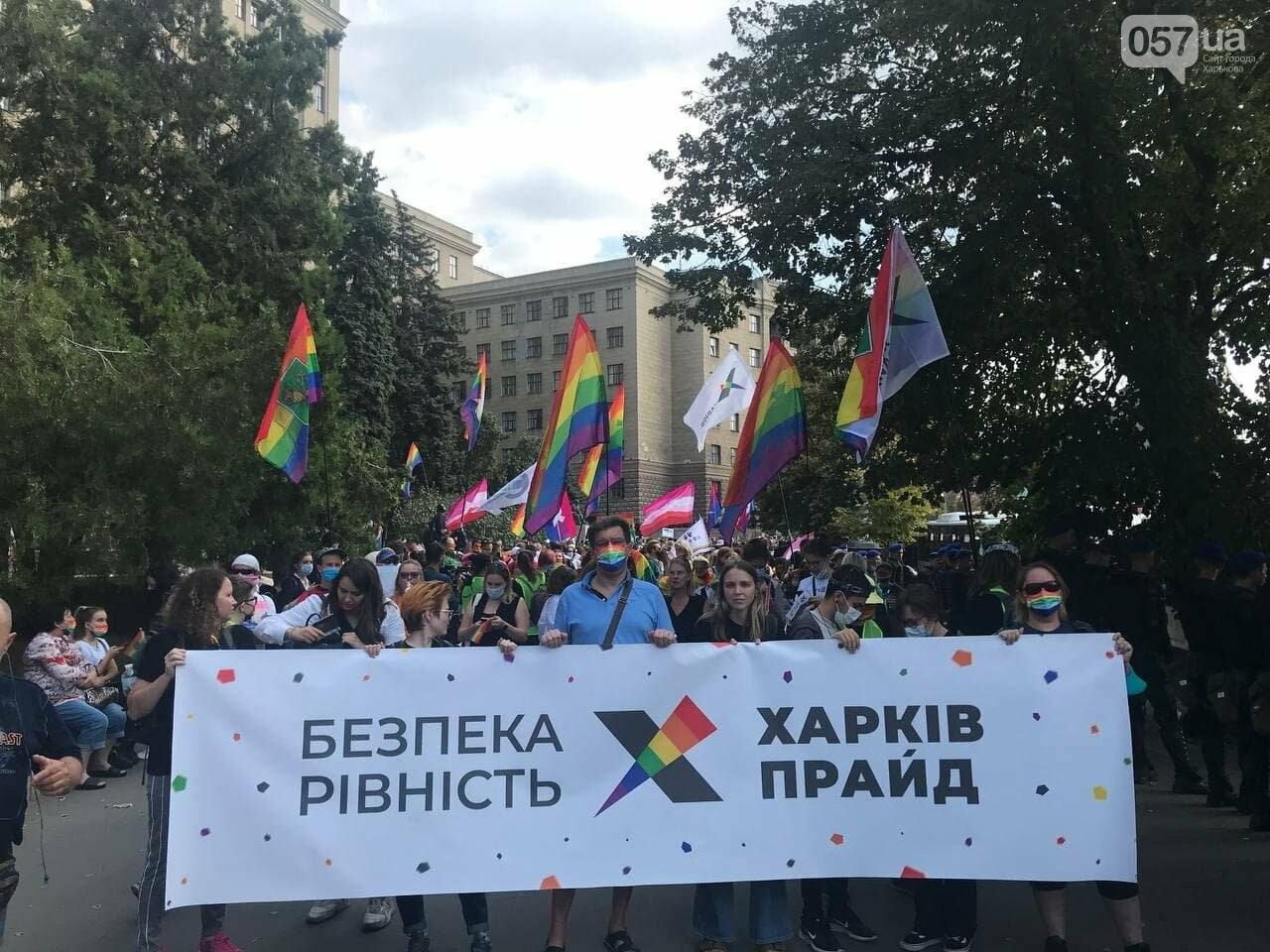 «Нет важней любви». Как в центре Харькова прошел ЛГБТ-марш, - ФОТОРЕПОРТАЖ, фото-16