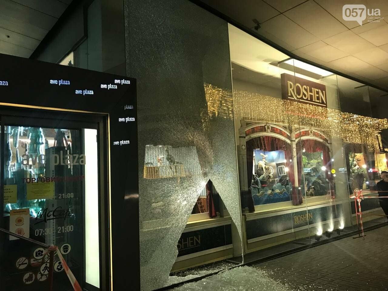 В центре Харькова неизвестные разгромили витрину ТЦ, - ФОТО, фото-4
