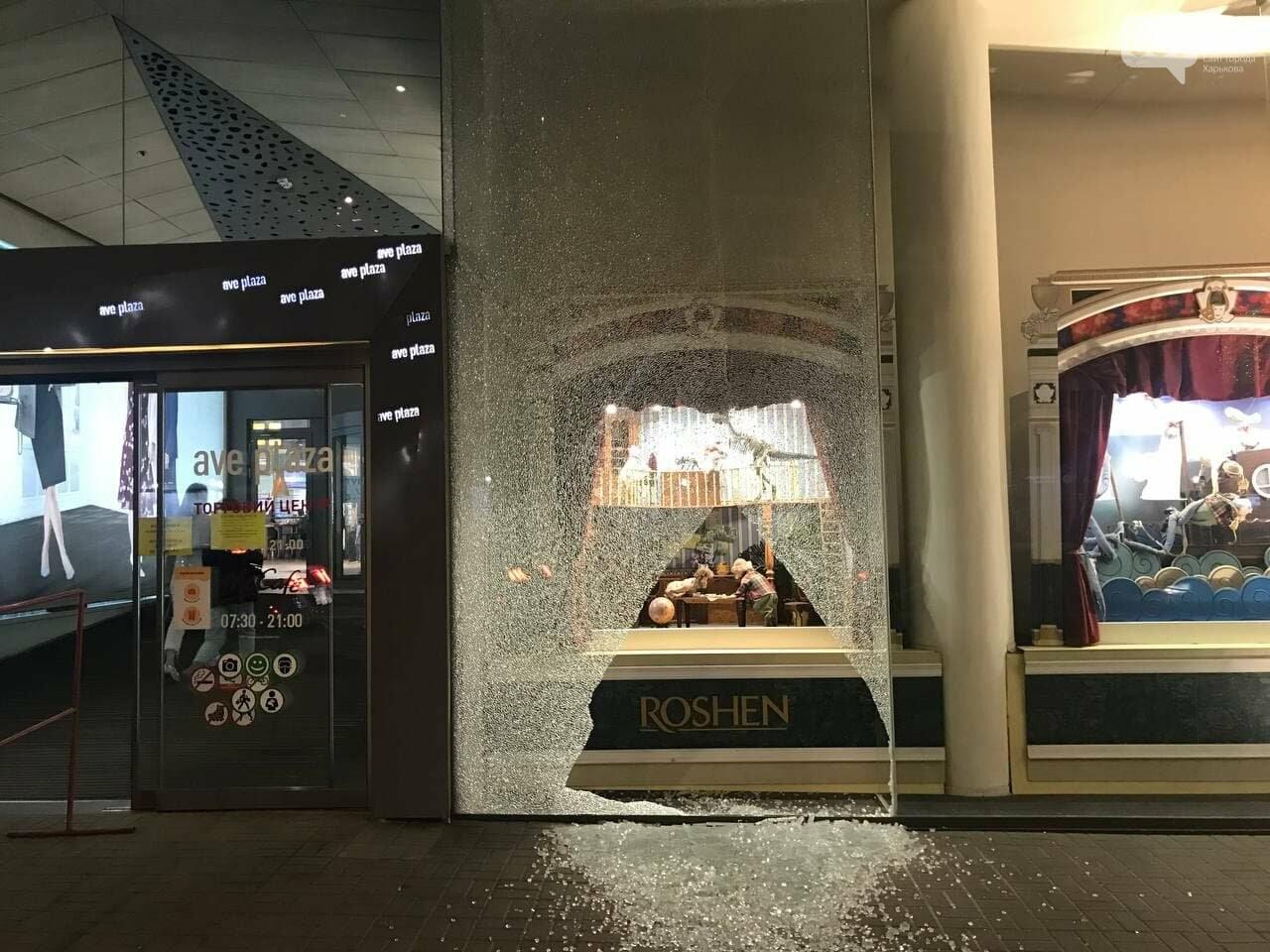 В центре Харькова неизвестные разгромили витрину ТЦ, - ФОТО, фото-2