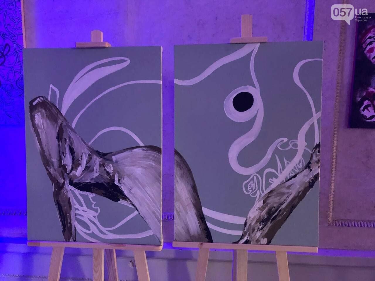 В Харькове прошла благотворительная выставка памяти молодой художницы, скончавшейся от приступа эпилепсии, - ФОТОРЕПОРТАЖ, фото-2