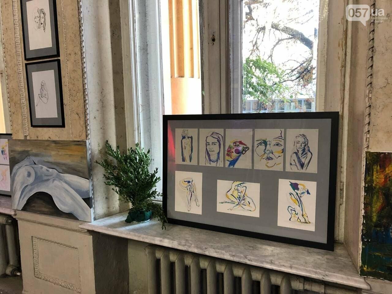 В Харькове прошла благотворительная выставка памяти молодой художницы, скончавшейся от приступа эпилепсии, - ФОТОРЕПОРТАЖ, фото-4