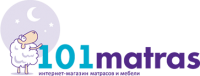 Логотип - 101matras.com.ua, интернет-магазин матрасов