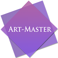 Логотип - Студия Art-Master Харьков, курсы маникюра,дизайна, наращивания ногтей, ресниц, микроблейдинга